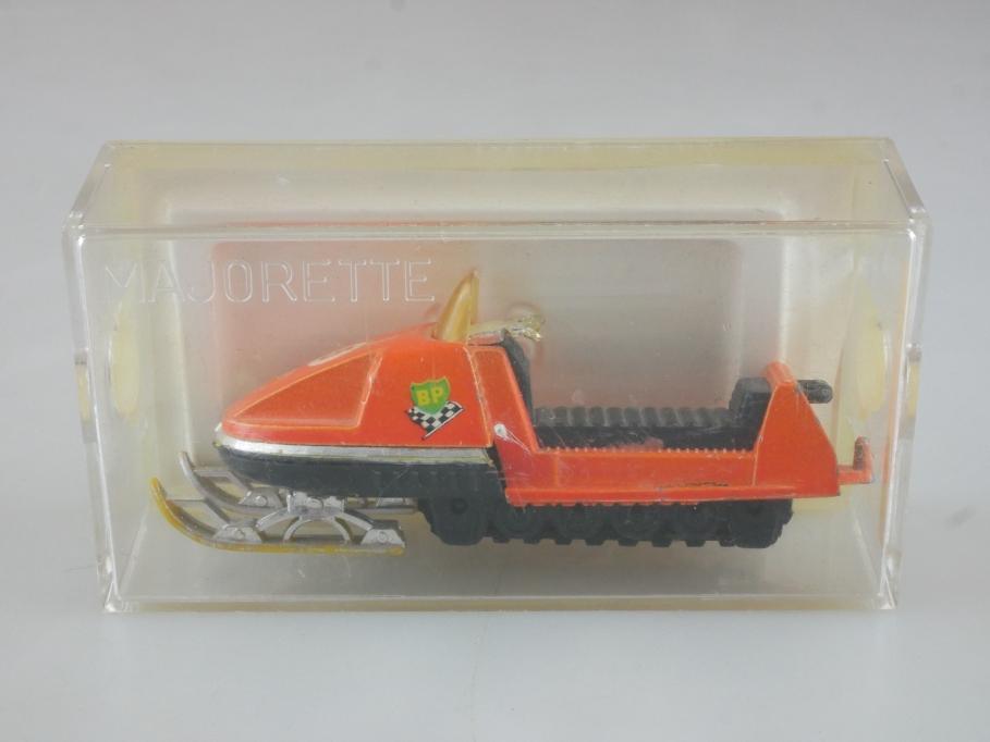 249 Majorette ca. 1/43 Moto Neige Motorschlitten Snowmobile mit Box 514793