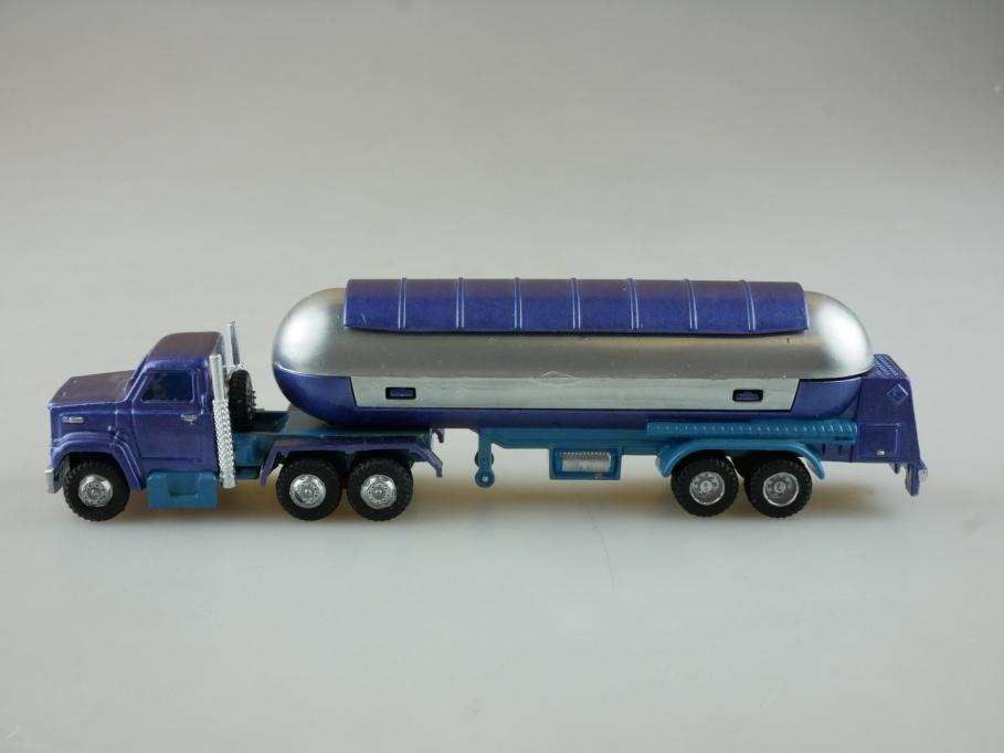 324 Majorette 1/100 Ford Truck mit Silotankauflieger ohne Box 514794