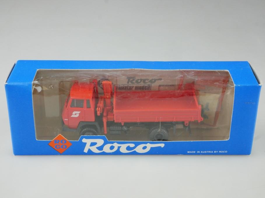 1508 Roco 1/87 Steyr 91 Kipper ÖBB Dump Truck mit Box 514807