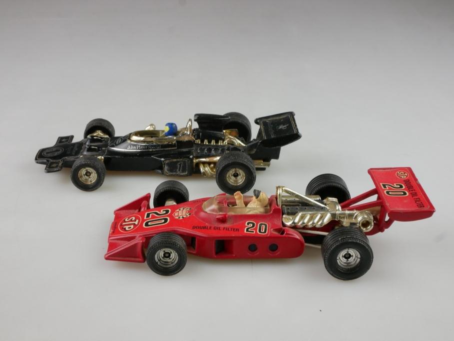 Corgi Toys 1/36 Formel 1 Rennwagen Konvolut Lotus JPS STP ohne Box 514822