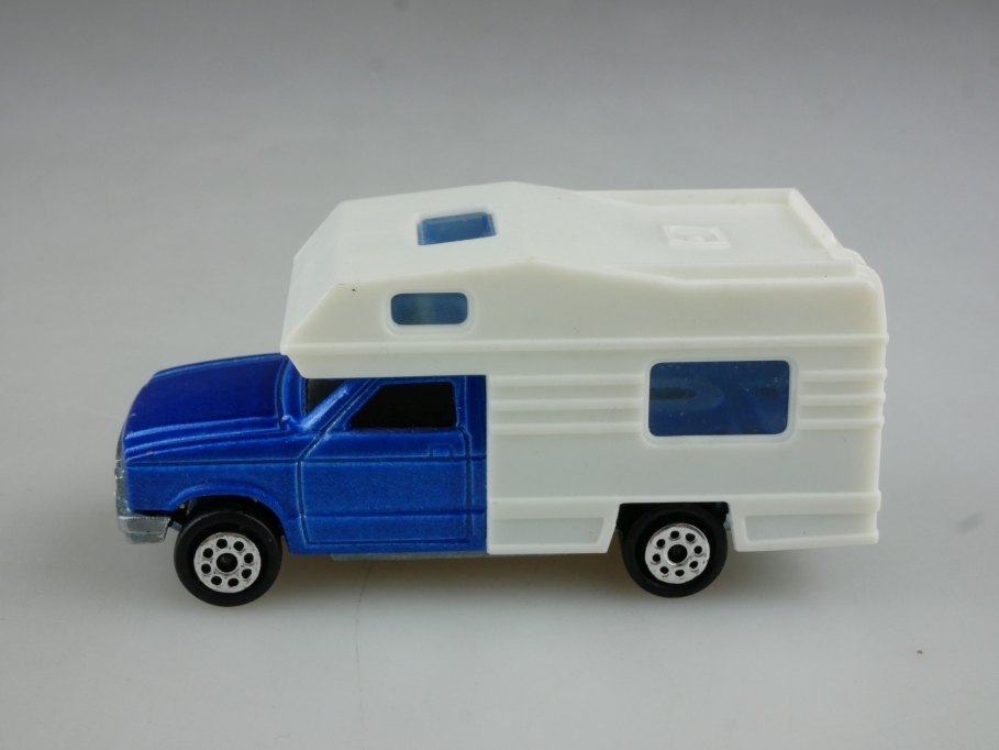 278 Majorette 1/60 Ford Ranger Camping Car Wohnmobil ohne Box 514830