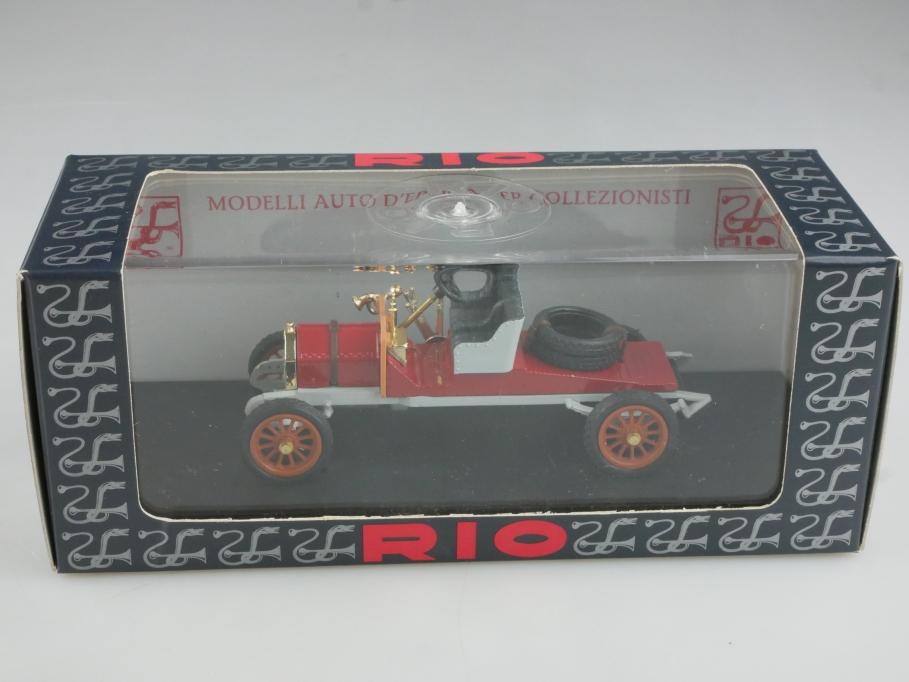 Rio 1/43 Itala 40 CV Targa Florio 1906 Racer Rennwagen mit Box 514865
