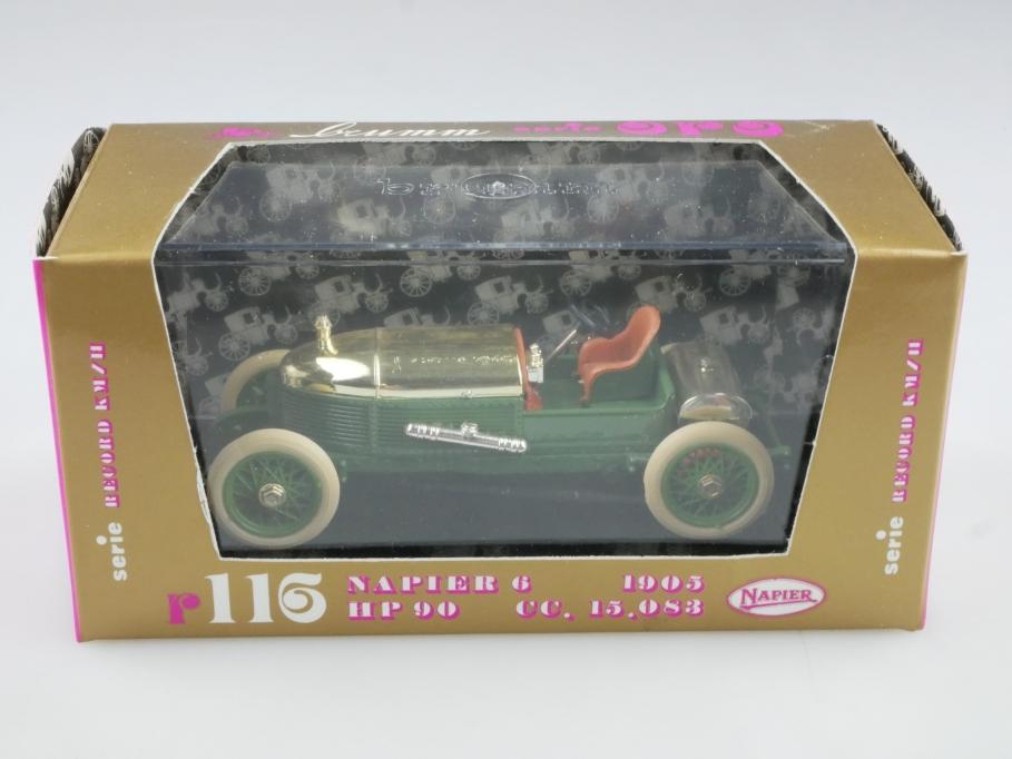 R 116 Brumm 1/43 Napier 6 HP 90 Racer 1905 Rennwagen CC 15,083 mit Box 514867