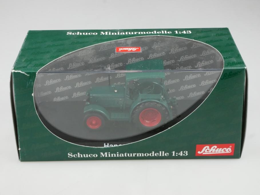 2781 Schuco 1/43 Hanomag R 40 Traktor Schlepper 1946 mit Box 514873