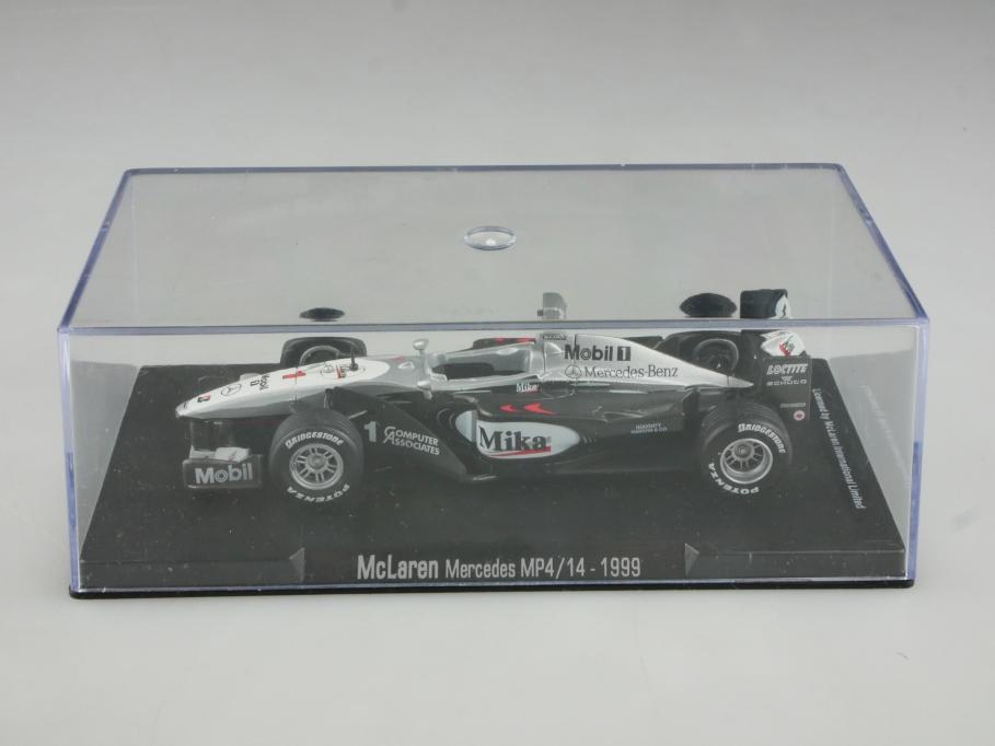 RBA Collectibles 1/43 Mc Laren Mercedes MP4/14 Formel 1 Häkkinen 1999 Box 514888