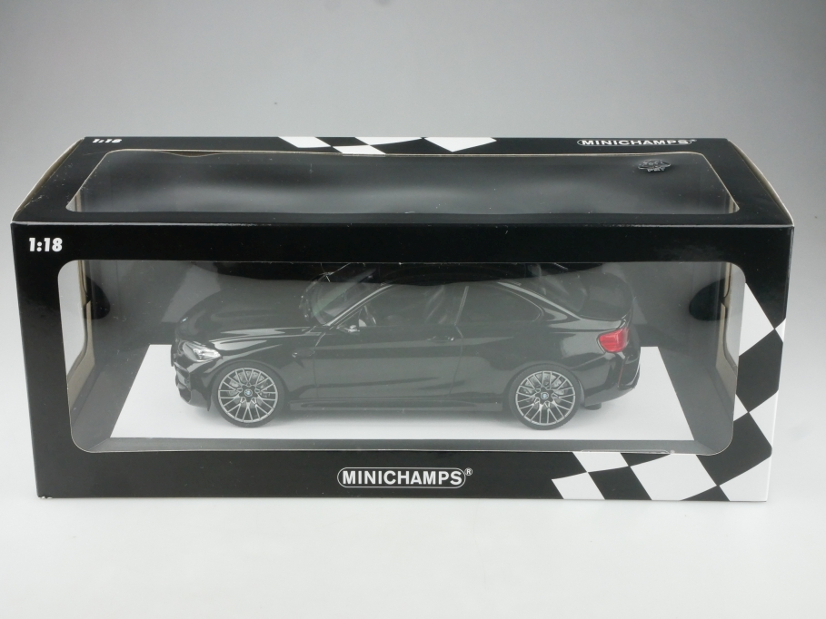 Minichamps 1/18 BMW M2 Competition Coupe 2019 limited black mit Box 514958