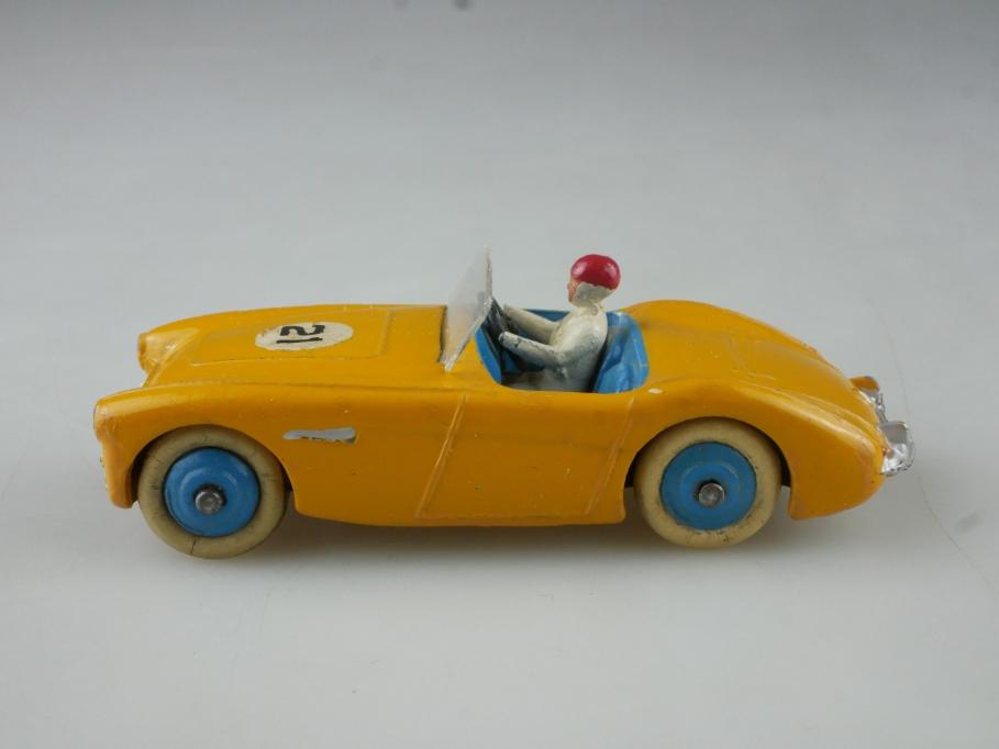 109 Dinky Toys 1/43 Austin Healey Roadster selten gelborange ohne Box 514973