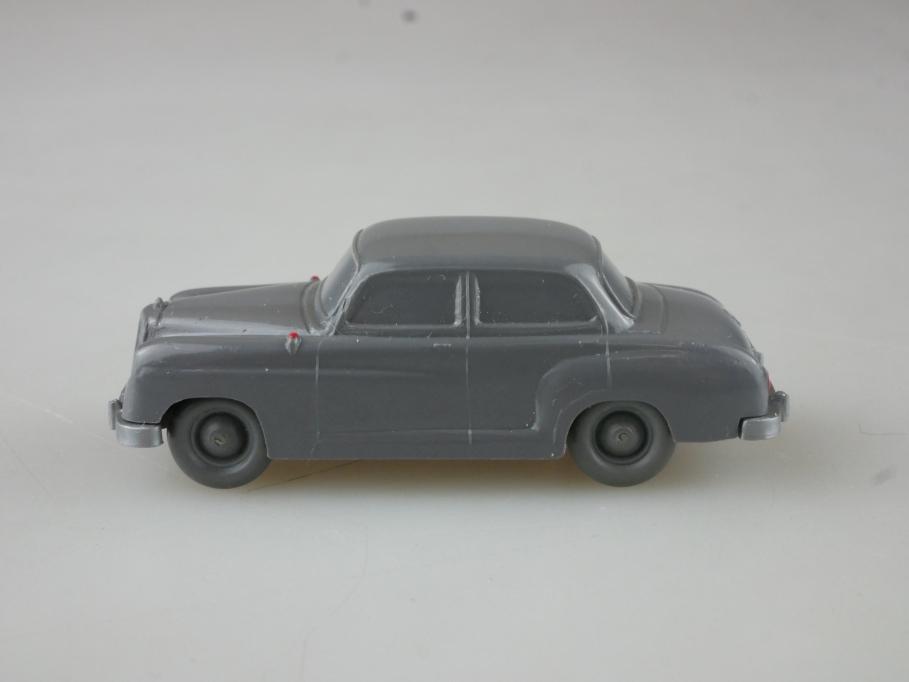 Saure 124 Wiking 1/87 Mercedes Benz 180 Ponton unverglast basaltgrau  515028