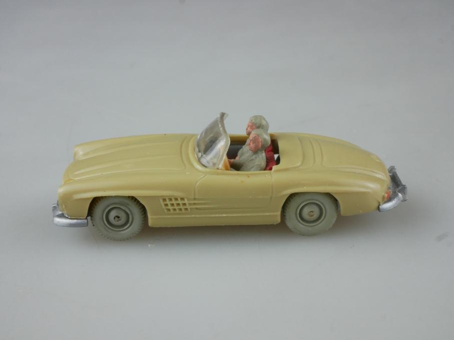 Saure 388 Wiking 1/87 Mercedes Benz 300 SL Roadster grünbeige ohne Box 515052