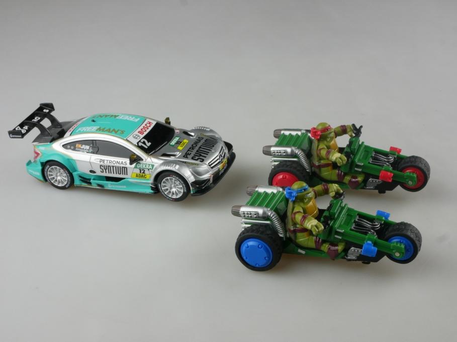 Carrera Go 1/48 Fahrzeug Konvolut Mercedes AMG C63 Ninja Racer ohne Box  515064