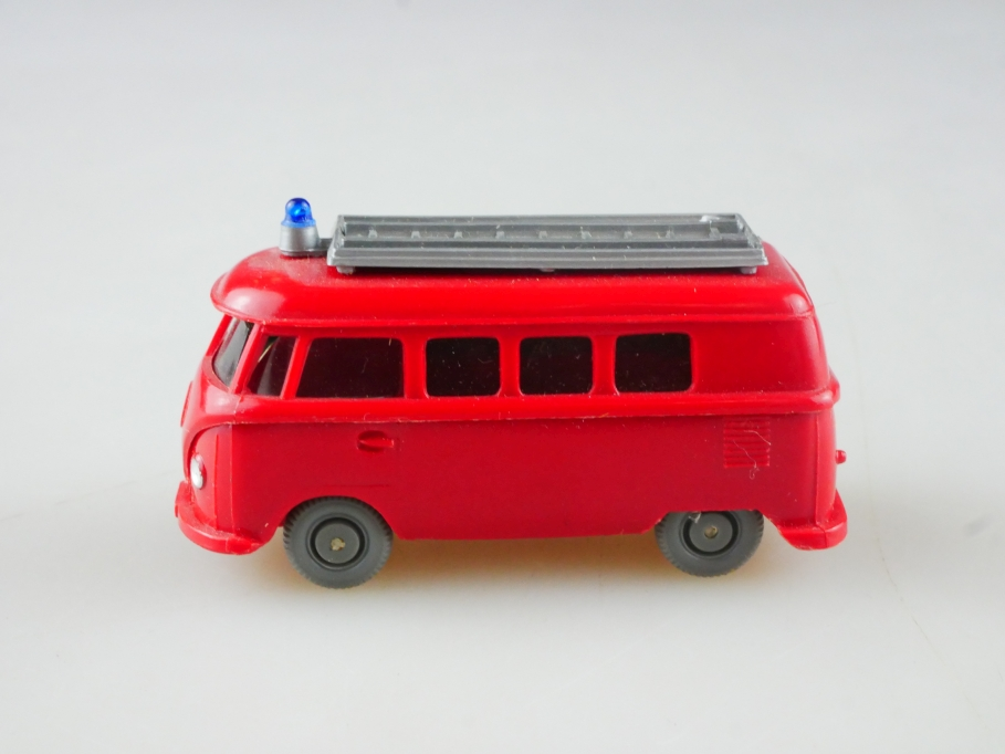 Saure 1046 Wiking 1/87 VW T1 Bus Volkswagen Feuerwehr rot ohne Box 515098