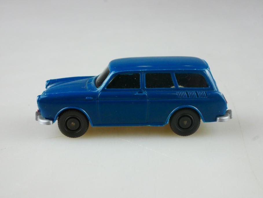 Saure 308 Wiking 1/87 VW 1500 Typ 3 Variant dunkelazurblau ohne Box 515101