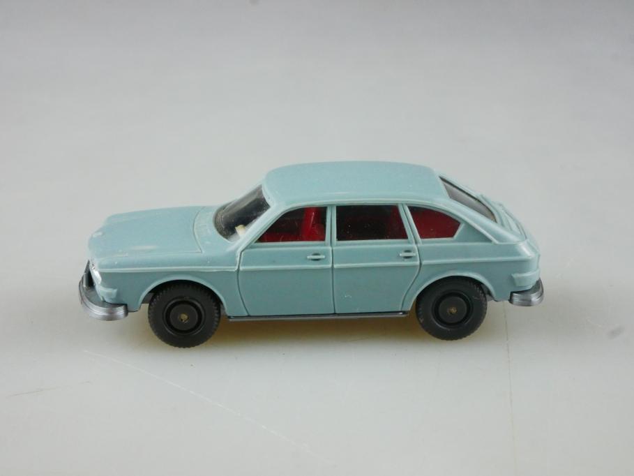 Saure 310 Wiking 1/87 VW 411 Nasenbär Volkswagen hellblaugrau ohne Box 515102