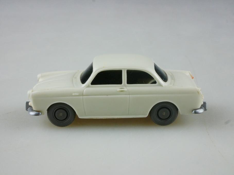 Saure 307 Wiking 1/87 VW 1500 Stufenheck Volkswagen perlweiß ohne Box 515111