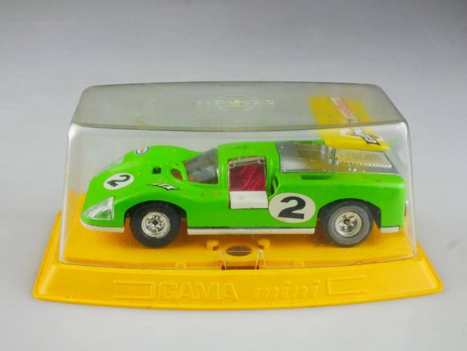 9604 Gama 1/43 Chaparral Racer Rennwagen selten maigrün mit Box 515179