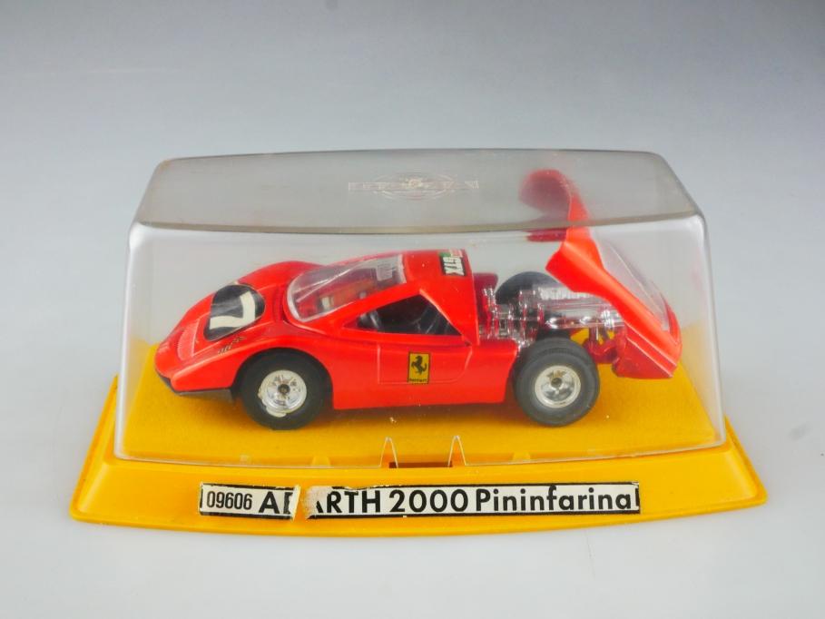 9606 Gama 1/40 Abarth 2000 Pininfarina Racer Rennwagen selten mit Box 515180