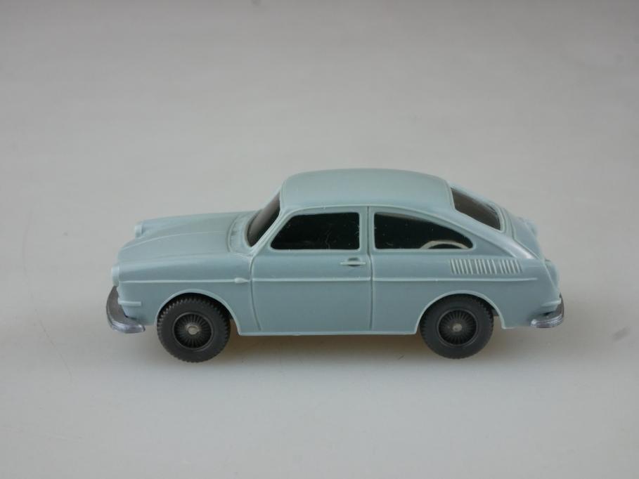 Saure 309 Wiking 1/87 VW 1600 TL Fließheck Volkswagen hellblaugrau  515189