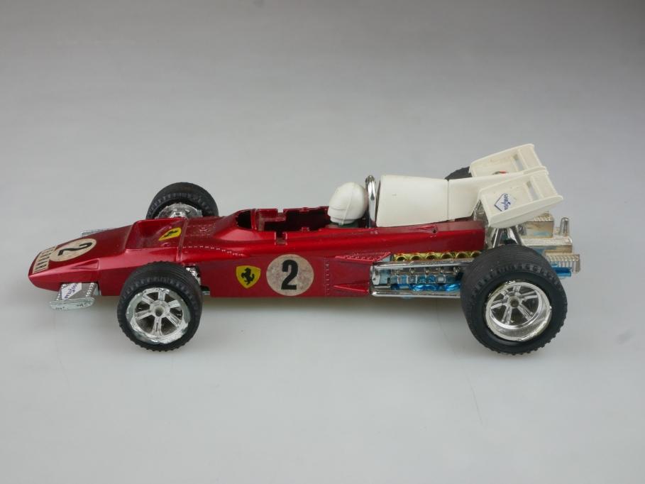 6671 Mebetoys 1/28 Ferrari 312 B2 Formel 1 Gran Prix rot ohne Box 515208