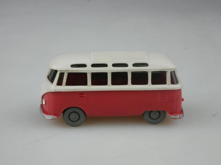 Saure 325 Wiking 1/87 VW T1 Sambabus Volkswagen rose braunweiß ohne Box 515236