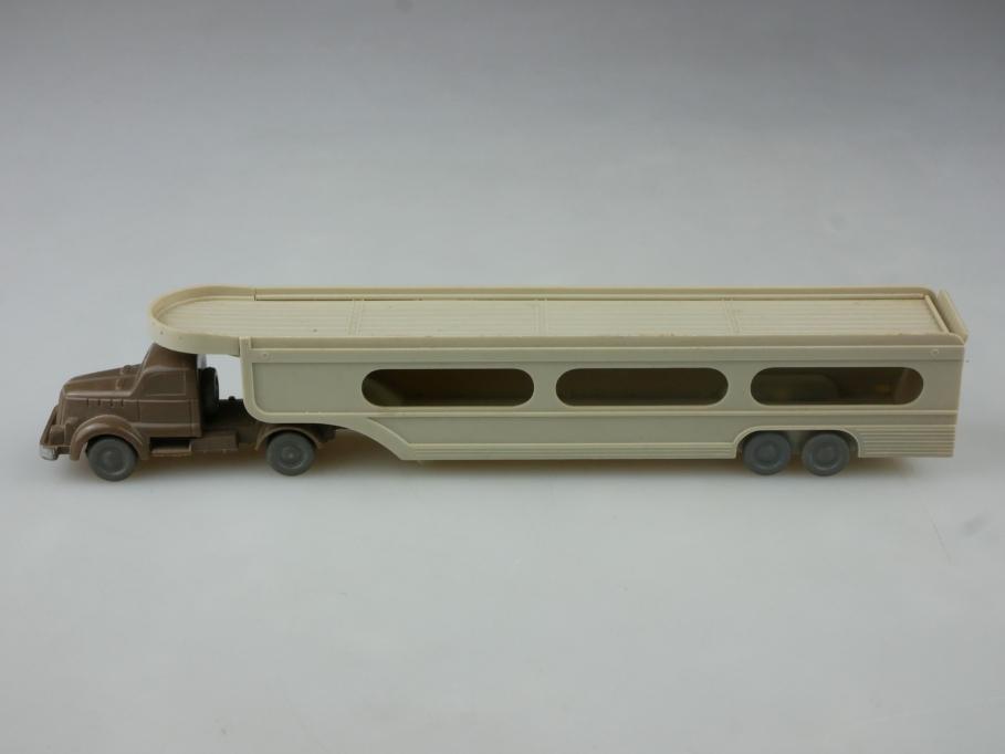Saure 207 Wiking 1/87 White PKW Transporter unverglast blaßbraun ohne Box 515238