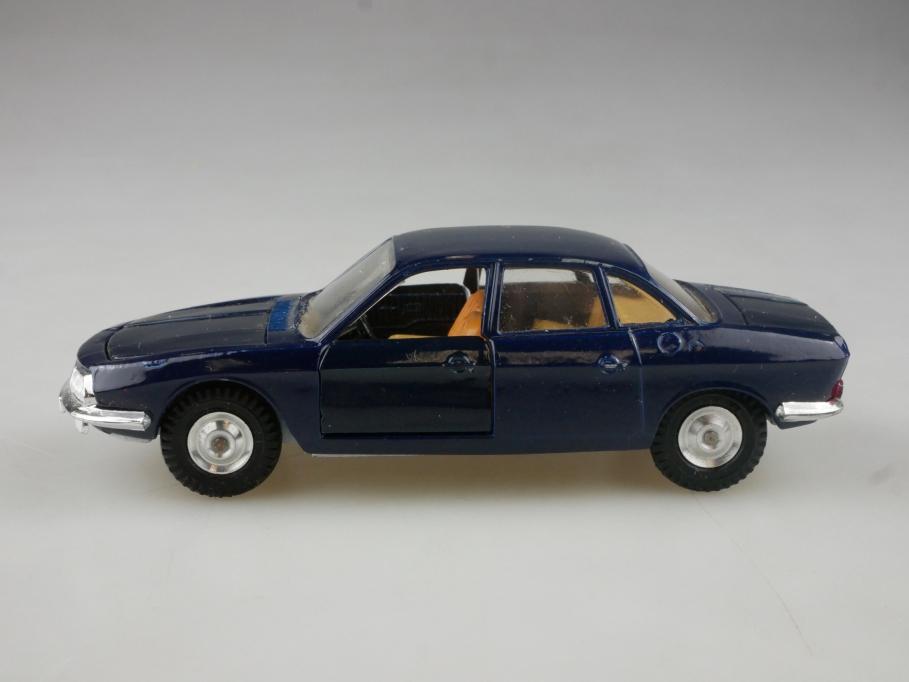 9670 Gama 1/43 NSU Ro 80 Zweischeibenwankel Motor dunkelblau ohne Box 515257