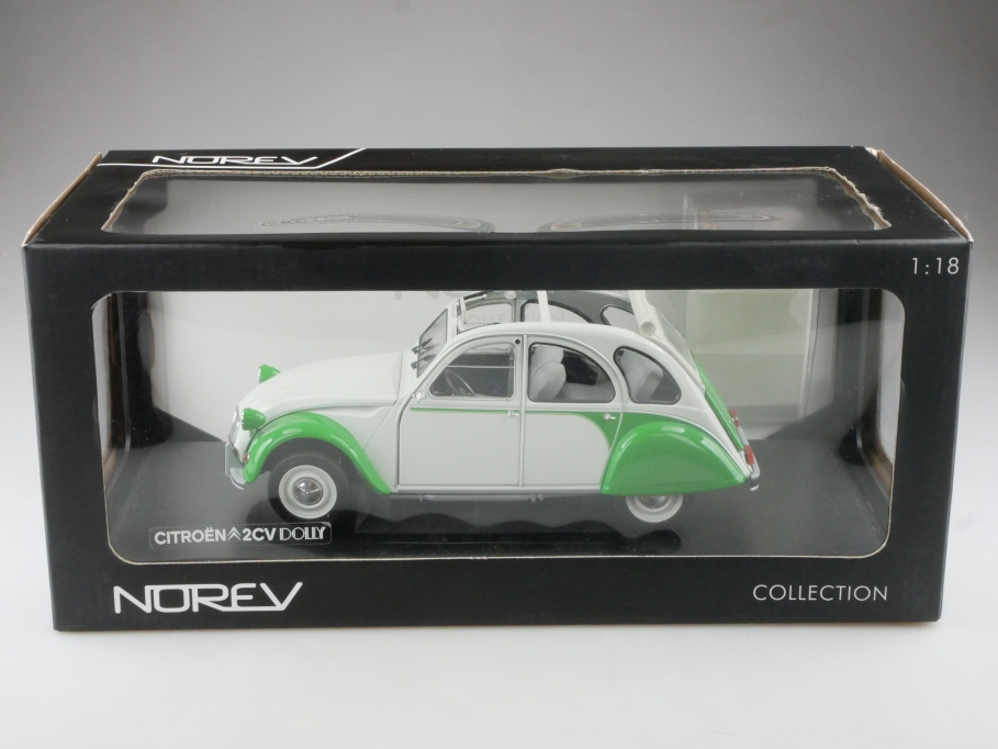 Norev 1/18 Citroen 2 CV Dolly Club Edition Ente mit Box 515314