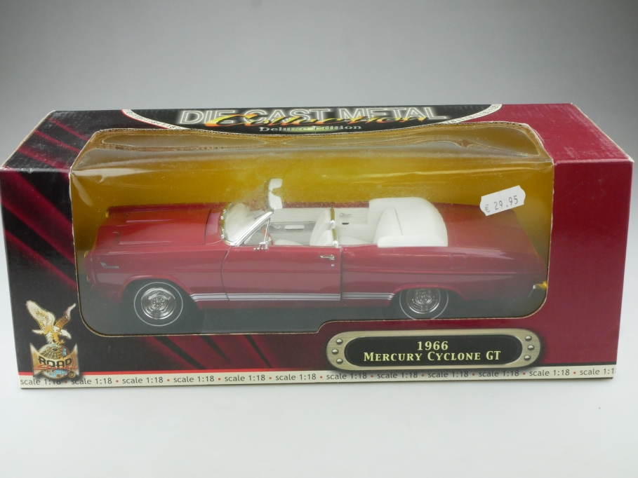 Road Signature 1/18 Mercury Cyclone GT Convertible 1966 mit Box 515324