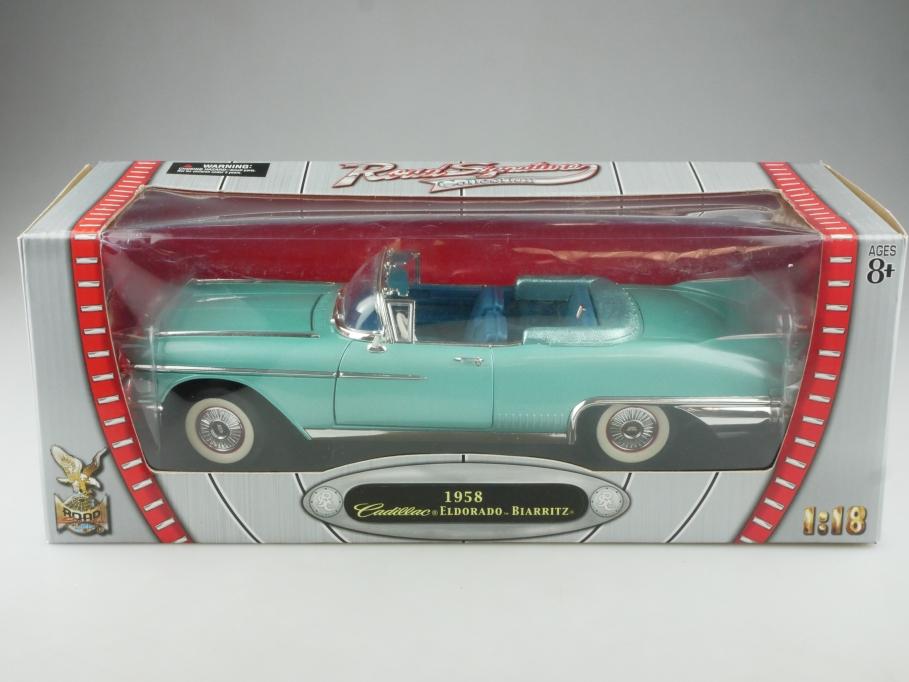 Road Signature 1/18 Cadillac Eldorado Biarritz 1958 Convertible mit Box 515340