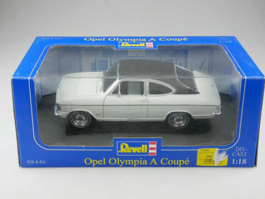 8446 Revell 1/18 Opel Olympia A Fastback Coupe wie Kadett B mit Box  515348