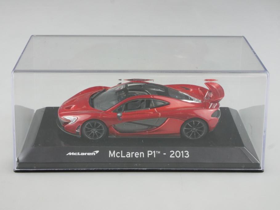 Collection 1/43 Mc Laren P1 Coupe 2013 Supersportwagen mit Box 515398