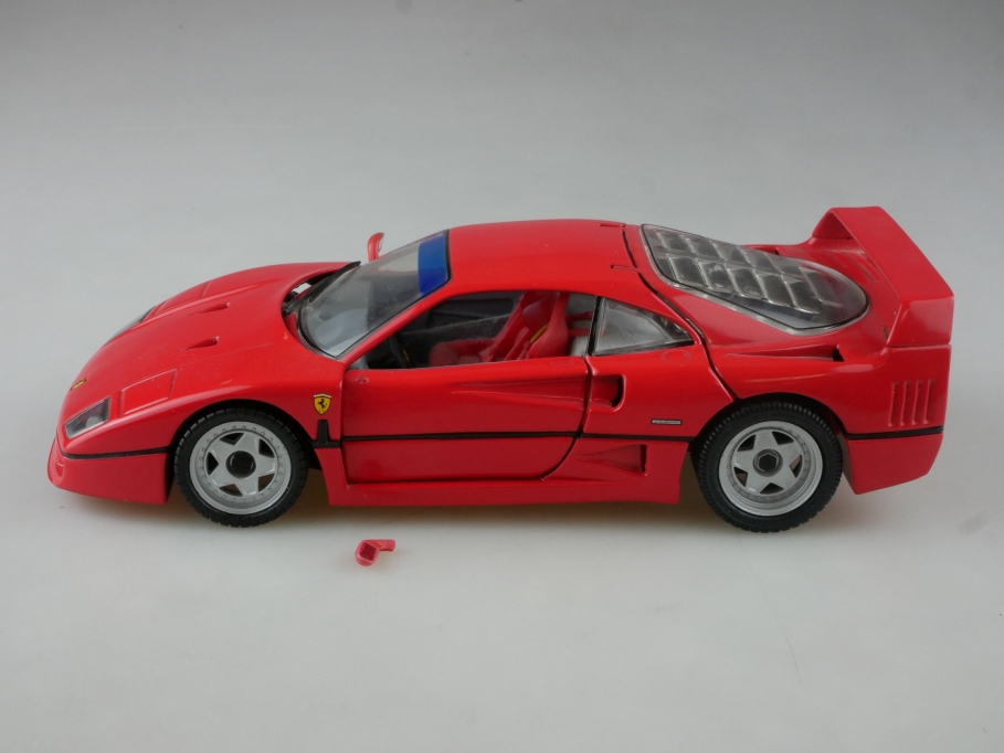 Franklin Mint 1/24 Ferrari f 40 Coupe Supersportwagen 1989 ohne Box 515389