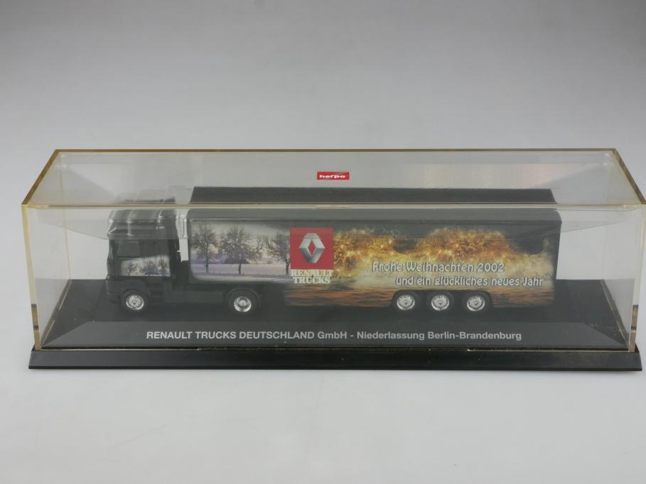 Herpa 1/87 Renault Magnum Truck Werbemodell 2002 Berlin Brandenburg  Box 515461