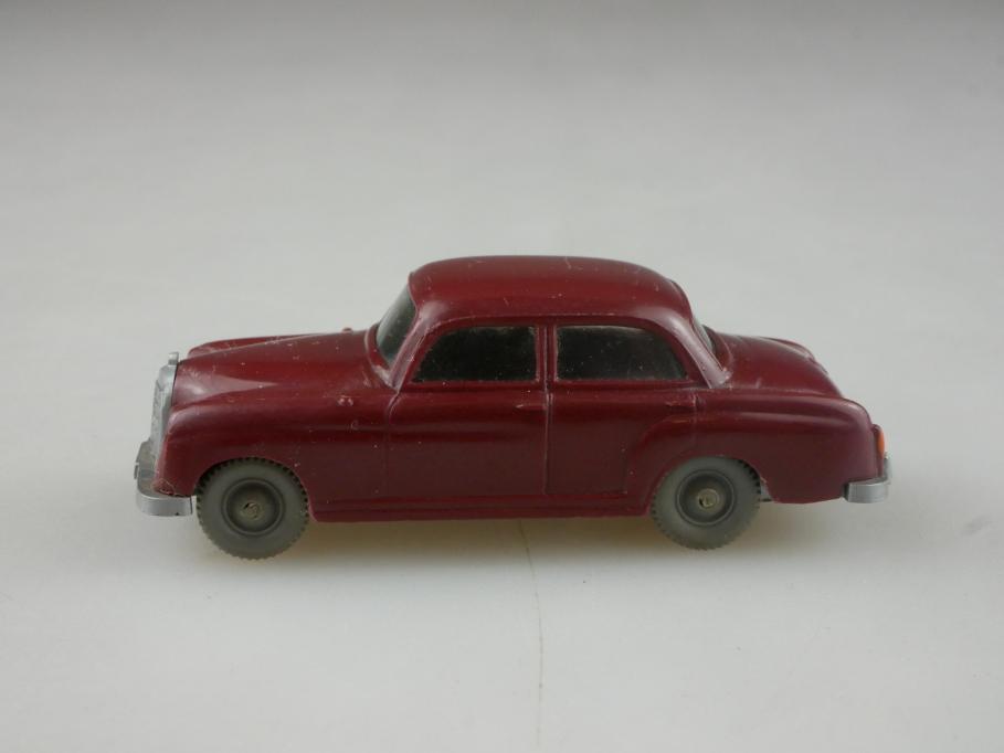 Saure 372 Wiking 1/87 Mercedes Benz 180 Ponton weinrot ohne Box  515477