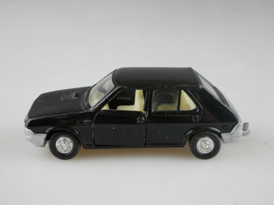 169 Mira 1/60 Fiat Ritmo CLX black made in spain ohne Box 515483