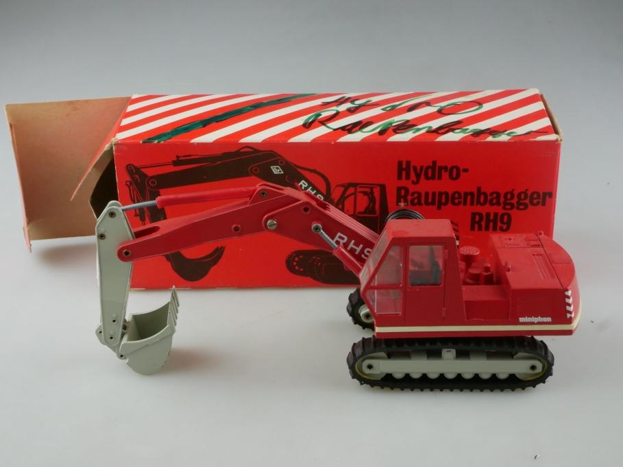 277 Conrad 1/50 Hydro Raupenbagger RH-9 O&K Händleredi. mit Box 515512