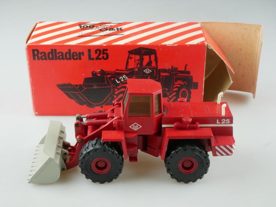 1173 Cursor 1/50 Radlader Bagger L 25 O&K Händleredition mit Box 515513