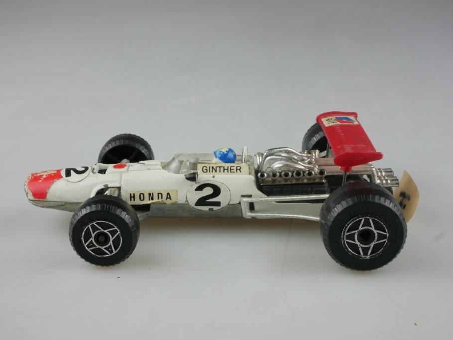 F4 Politoys 1/32 Honda F1 Formel 1 Rennwagen Ginther Racer ohne Box 515516