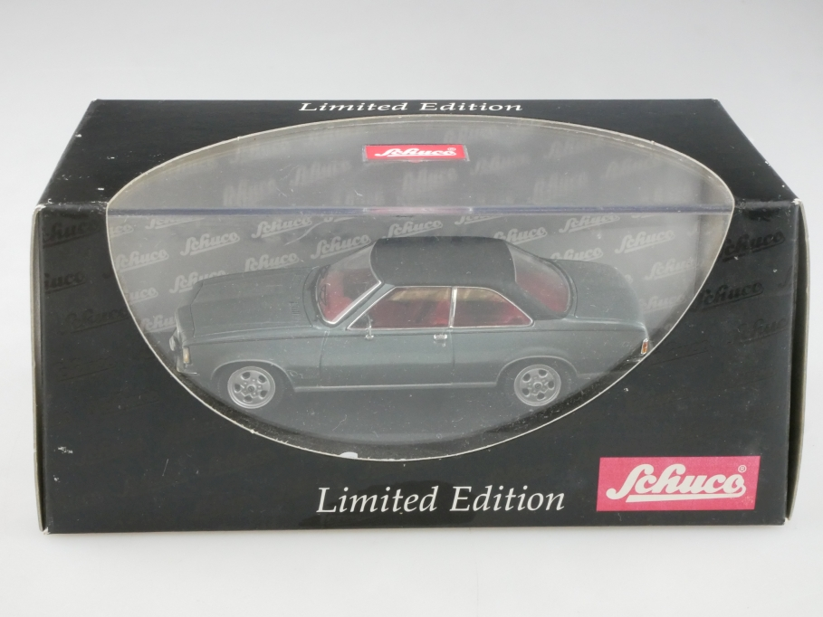 2774 Schuco 1/43 Opel Commodore B GS Coupe montanagrau Limited mit Box 515523