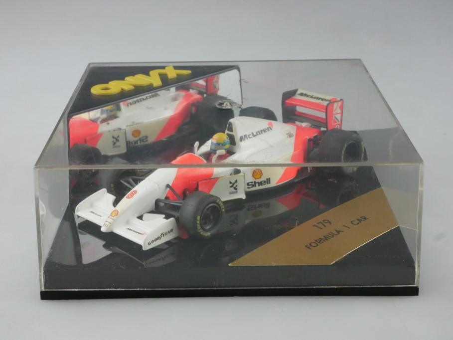 179 Onyx 1/43 Mc Laren F1 Racer Formel 1 Rennwagen mit Box 515545