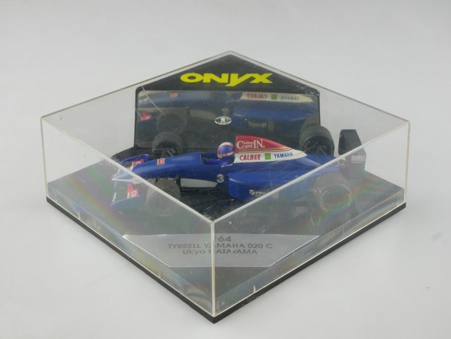 164 Onyx 1/43 Tyrrell Yamaha 20c Katayama Formel 1 Rennwagen mit Box 515546