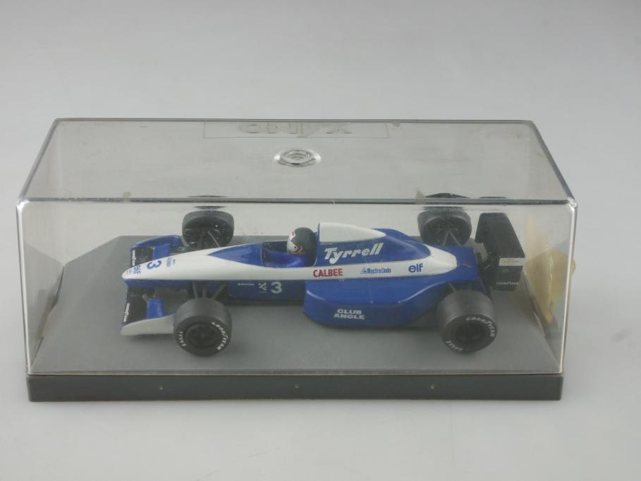 141 Onyx 1/43 020B Tyrrell Formel 1 Rennwagen Racer Grouillard mit Box 515547