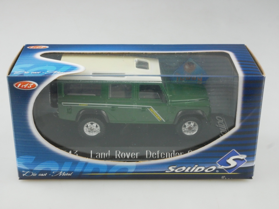 1543 Solido 1/43  Land Rover Defender County 110 Station Wagon mit Box 515628