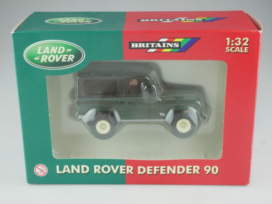 40547 Britains 1/32 Land Rover Defender 90 Hardtop darkgreen mit Box  515682