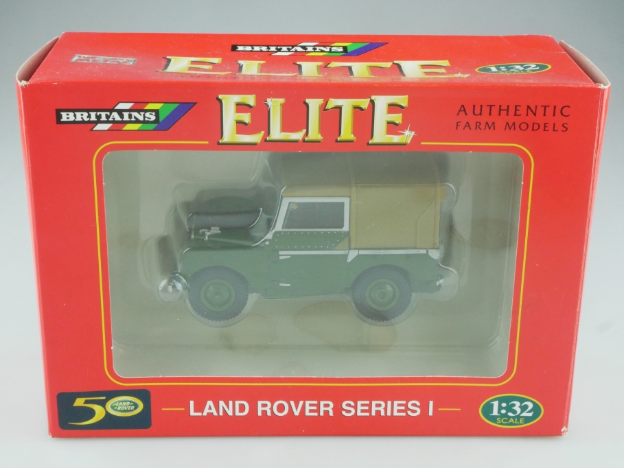 174 Britains 1/32 Land Rover 88 Serie 1  darkgreen Elite mit Box  515683