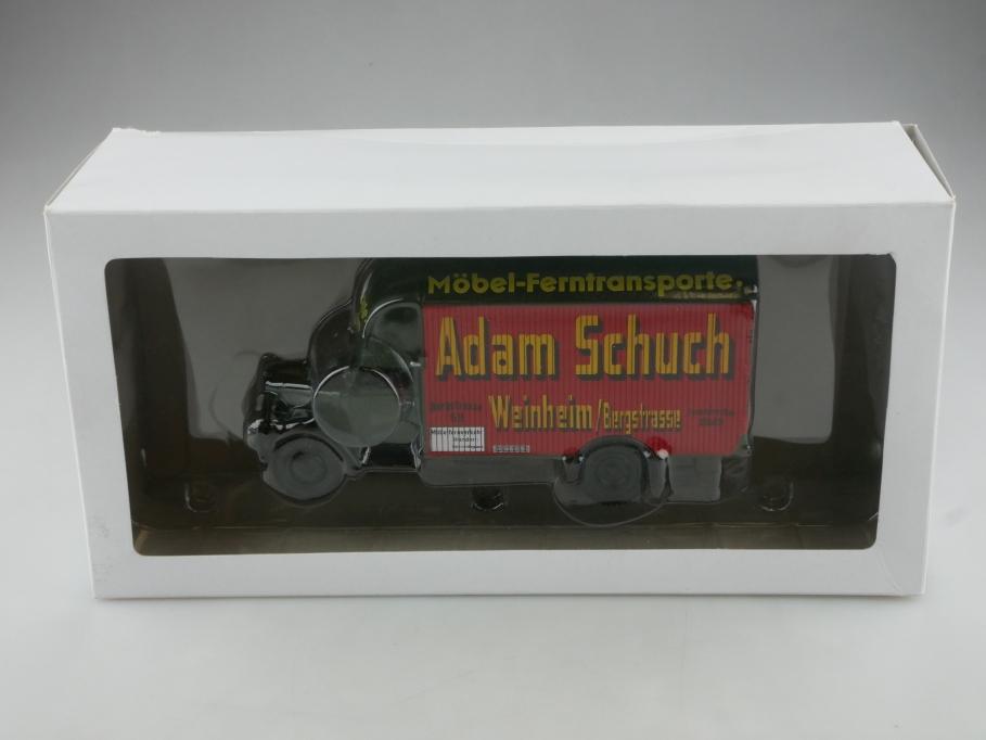 Atlas Ixo 1/43 Collection Opel Blitz Möbelwagen Adam Schuch mit Box  515684