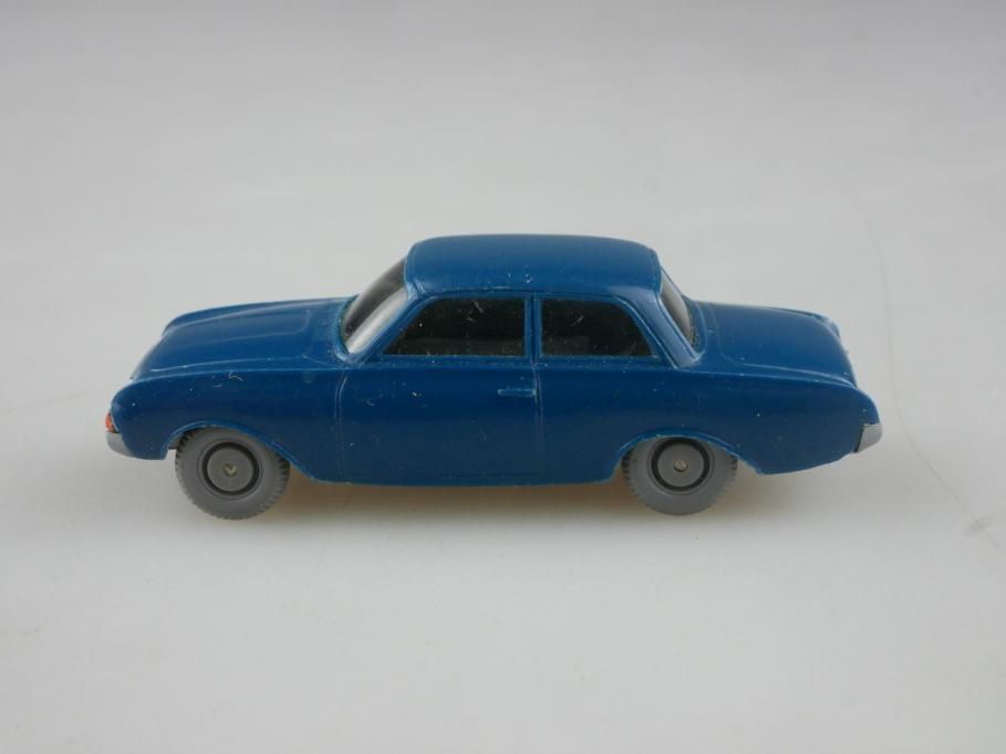 Saure 433 Wiking 1/87 Ford Taunus 17m P3 Badewanne oceanblau ohne Box 515703