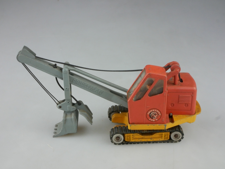 Corgi Toys 1/43 Priestman Cub Shovel Schaufelraupenbagger ohne Box 515726