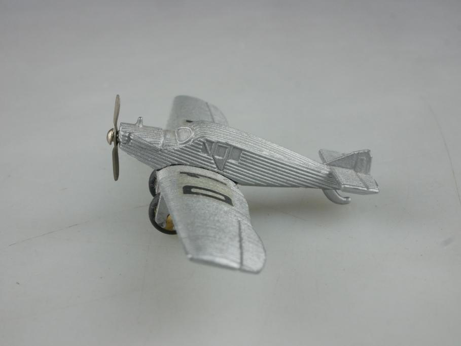 335779 Schuco ca. 1/400 Junkers Ju F13 Wellblechflugzeug ohne Box 515728