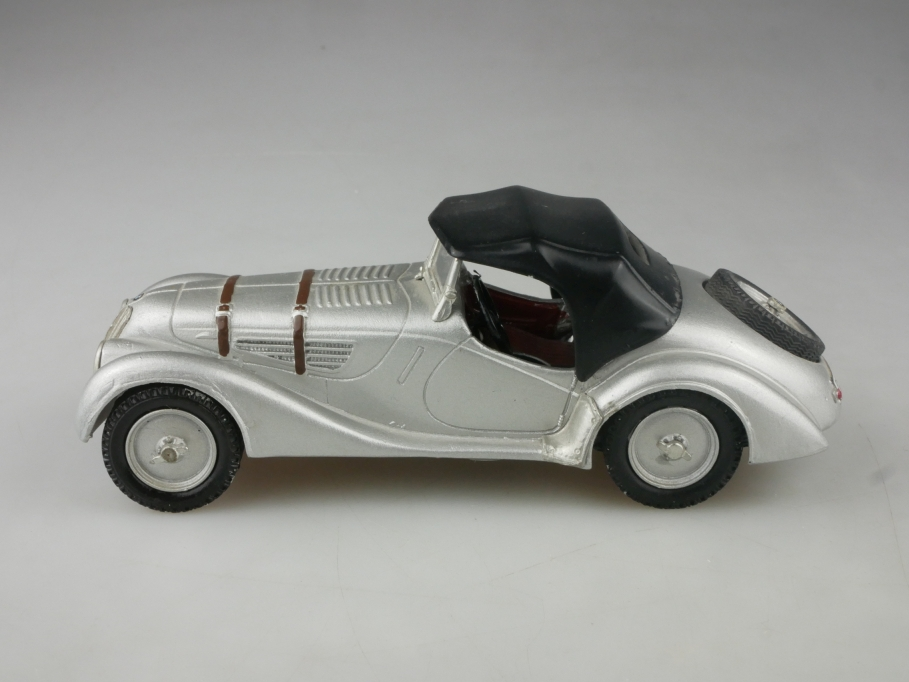 Franklin Mint 1/24 BMW 328 Roadster Briefbeschwerer Massiv Zinn ohne Box 515729