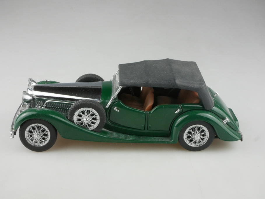 Franklin Mint 1/24 Alvis 4,3 Litre Sportstourer 1938 Teileträger ohne Box 515731
